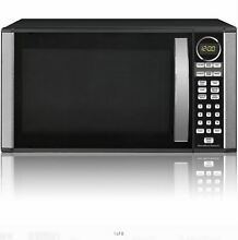 Microwave Oven Countertop Stainless Steel Free Shipping 1 3 cu  ft  Best New
