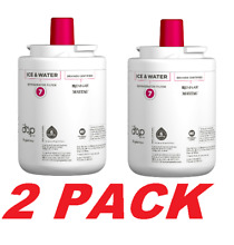 Genuine Whirlpool EDR7D1 EveryDrop Ice   Water Refrigerator Water Filter 2 PACK