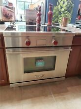 IR365TESTH WOLF 36  INDUCTION RANGE  DISPLAY MODEL