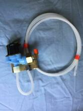 IGE HOTPOINT iCEMAKER WATER VALVE PART  WR 57X90  120VOLT BRAND NEW WITH TUBING