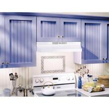 NuTone RL6200 Series 24 in  Ductless Under Cabinet Range Hood w Light in White