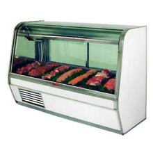 Howard McCray   SC CMS32E 4C   50  x 50 1 2  White Red Meat Case