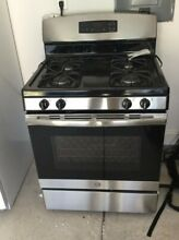 GE JGB645SEKSS 30 Inch Gas Freestanding Range in Stainless Steel