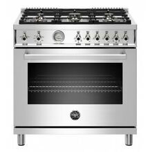 Bertazzoni Professional Series 36  Stainless Steel Gas Range