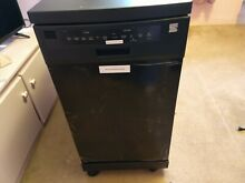 18  Kenmore Portable Dish Washer Never Used  Please read description