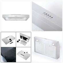 Cosmo 5U30 30 in Under Cabinet Range Hood 250 CFM with Ducted  Ductless Converti