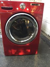 LG Steam Washer and Steam Electric dryer set used