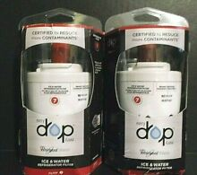 2 PACK EveryDrop Filter 7 Whirlpool UKF7003 Ice and Water Refrigerator Filters