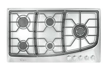 Empava 36  Gas Stainless Steel Cooktop 5 Burners Cooking Built in Stove  901