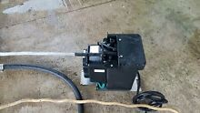 Whirlpool Ice Machine Drain Pump   W10122062 small damage on outlet