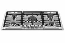 Empava 36  Stainless Steel 5 Italy Sabaf Burners Stove Top Gas Cooktop