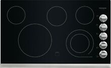Frigidaire 36  Stainless Steel Smoothtop Cooktop with 5 Elements FFEC3624PS
