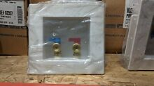 IPS Fire Rated Washing Machine Outlet Boxes w  Quarter Turn Valves 82357