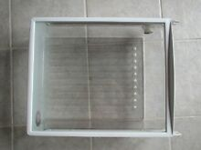 USED Frigidaire REFRIDGERATOR SPILLSAFE SHELF WITH BIN FROM MODEL FRS23F5A
