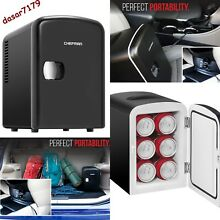 Small Mini Portable Fridge For Office Bedroom Car Desk Work Refrigerator Freezer