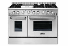 Thor Kitchen 48 Inch Professional Stainless Steel Gas Range with 6 Burners
