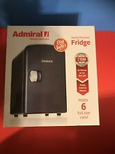 Admiral Handy Personal Fridge Portable 4L Refrigerator for Heating