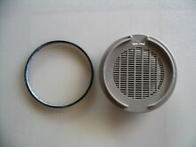Genuine Whirlpool dishwasher vent grille WPW10334900 and gasket WP8269259