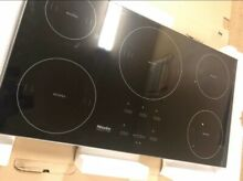Miele KM5773BL 36  Black Smoothtop Induction Cooktop NOB  20938 MAD
