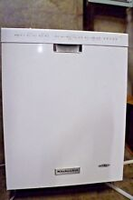 Kitchen Aid 24  6 Cycle 5 Option Dishwasher  Pocket Handle KDFE104DSS