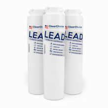 ClearChoice Replacement for GE MSWF Refrigerator Filter  Lead Reduction  3 Pack