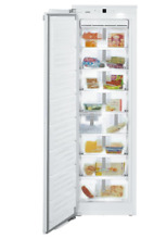 Liebherr HF 861 24 Inch Wide 7 8 Cu Ft Built in Freezer with Superfrost