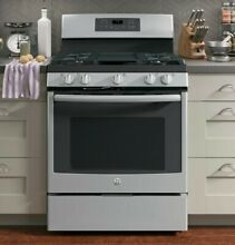 GE JGB700SEJSS 30  Stainless Freestanding Gas Range  Open box New