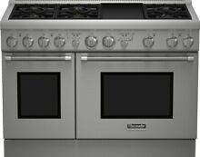 PRG486GDH THERMADOR 48  PRO HARMONY GAS RANGE 6 BURNER GRIDDLE NEW IN BOX