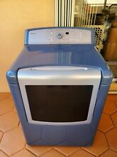 Kenmore Elite Dryer Metallic Silver Blue    Used