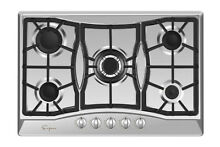 Empava 30 in Stainless Steel Gas Cooktop 5 Burners Cooker Built in Stove  0A5