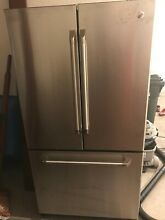 GE Caf  Series 20 7 Cu  Ft  Counter Depth French Door Refrigerator