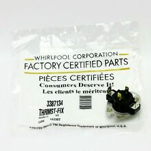 WP3387134 Genuine OEM Dryer Cycling Thermostat 3387134  PS11741405  AP6008270