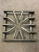 002817 000 007323 000 Viking Gas Range Oven Stove Cast Iron Burner Grate