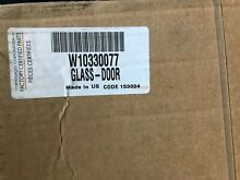 New in box Whirlpool Oven Outer Door Glass W10330077 OEM