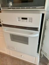 GE JRP20WJWW 24  White Single Electric Wall Oven   NEW   NEVER USED   OPEN BOX