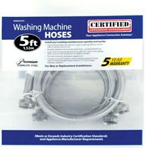 Stainless steel washing machine hoses