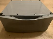 1 Whirlpool Duet Model  LAB2700ML2  Pedestal from the Washer   Pewter Color
