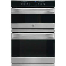 Kenmore Elite 30   Microwave Wall Oven Combination 49113   Stainless  Steel