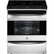 Kenmore Elite 42553 Electric Slide In Electric Range w  Convection   Stainless