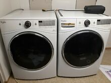Whirlpool washer and dryer stackable set 220v