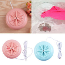 Mini Washing Machine Clothes Cleaner Washer USB for Pants Home Travel RV