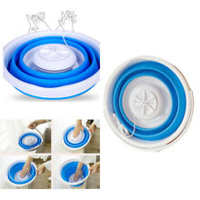 Portable Mini Washing Machine Folding Washer USB Charger for Apartments