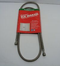 Fluidmaster 72 in  Braided Stainless Icemaker Connector Hose NEW in Package