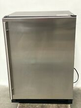 ULINE 1224RF 24  Stainless Steel under counter Refrigerator   Freezer Combo