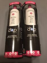 Lot Of 2 Refrigerator Water Filter  5 Replacement Cartridge  EDR5RXD1
