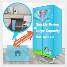 900W Foldable Portable Clothes Dryer machine Drying Rack Travel Laundry Shool