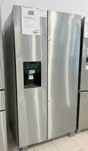 Whirlpool WRS325SDHZ 24 6 Cu ft Stainless Side by Side Refrigerator