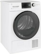 GE GFT14ESSLWW 24  White Front Load Electric Dryer 4 1 Cu Ft  NEW IN BOX