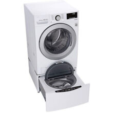 LG 4 5 cu  ft  Ultra Large Smart wi fi Front Load Washer   Recertified