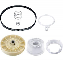 2 Pieces Washer Replacements Including 1 Piece W10721967 Washer Pulley Clutch 1
